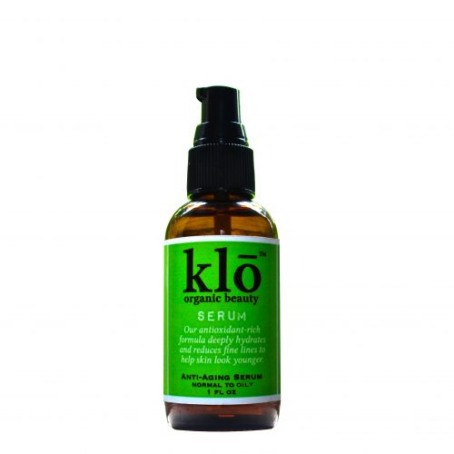 Klō Organic Beauty anti-aging serum for acne-prone and oily skin