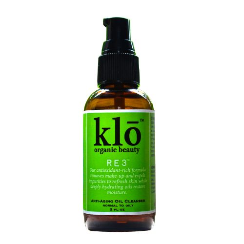 Klō Organic Beauty RE3 oil cleanser for acne-prone and oily skin