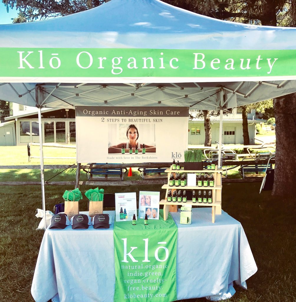 Klō Organic Beauty outdoor summer festival