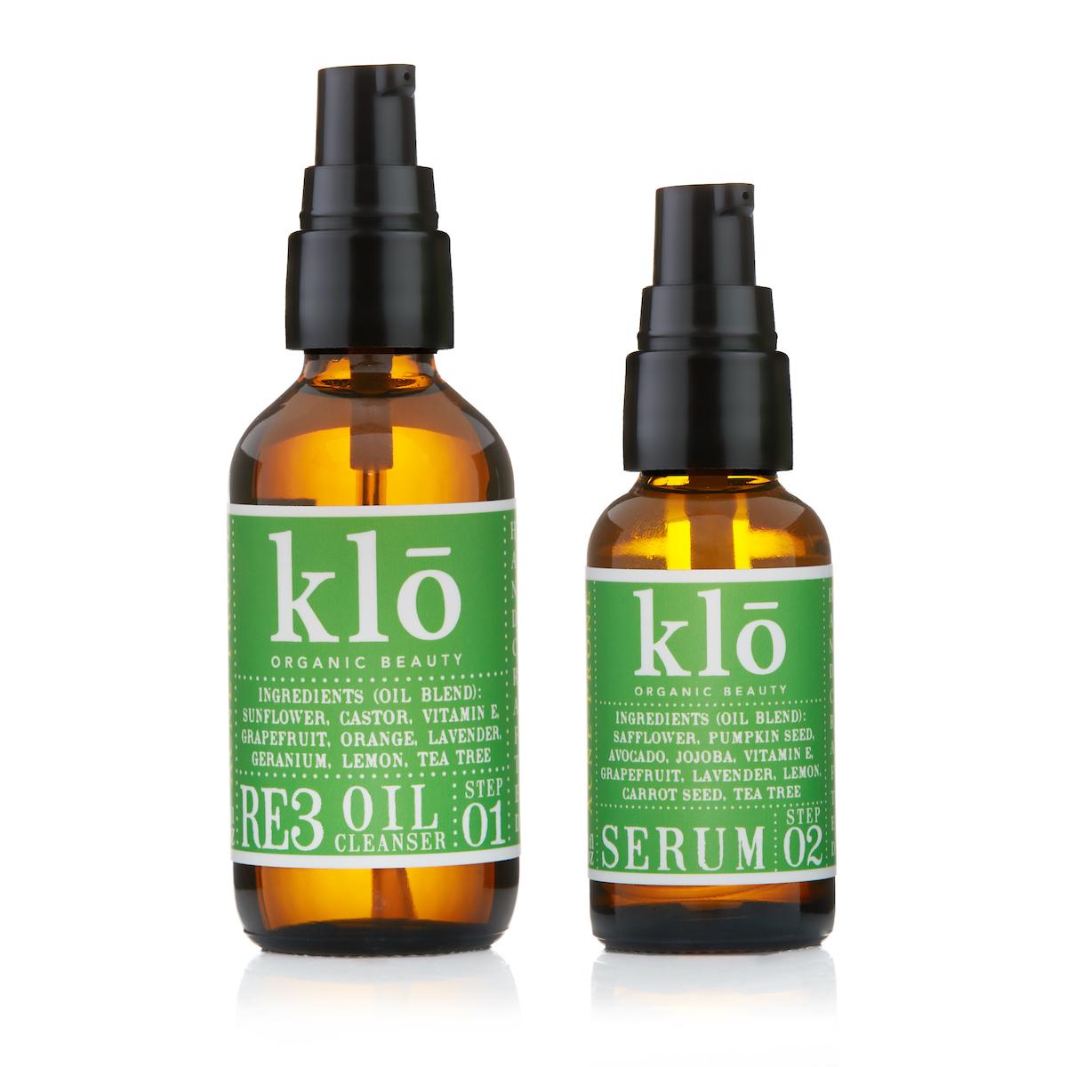 Klo Organic Beauty Acne-Prone Duo